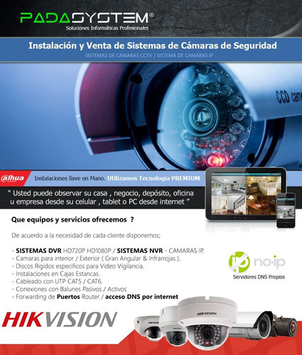 servicio cámaras seguridad