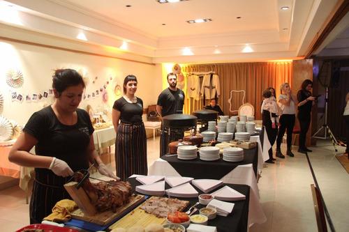 servicio catering pizza party