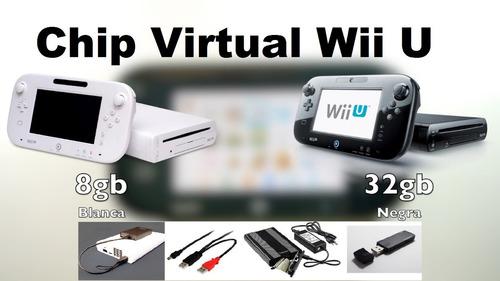 servicio chip virtual plus wii u definitivo