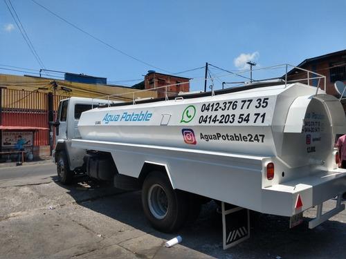 servicio cisterna agua potable 12.000 litros