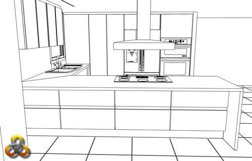 servicio cocinas, closet,