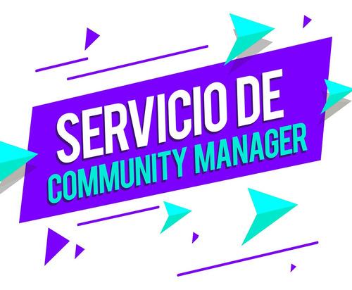 servicio community manager gestión redes sociales