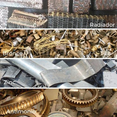 servicio compra venta chatarra cobre bronce aluminio zinc