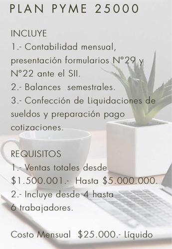servicio contable mensual (modalidad virtual)