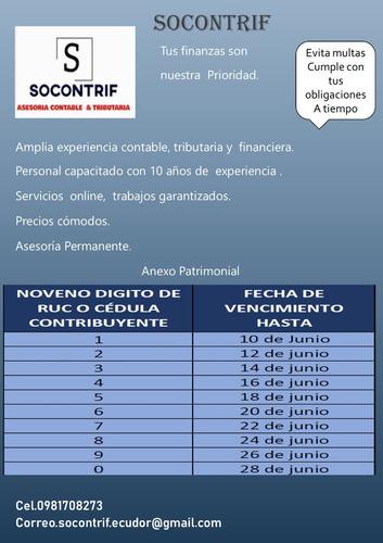 servicio contable &tributario