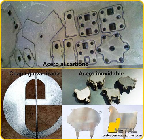 servicio corte de metales cnc plasma galvanizada inoxidable