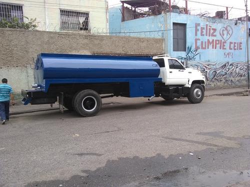 servicio de agua potable cisterna