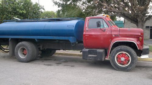 servicio de agua potable en camión cisterna en maracay