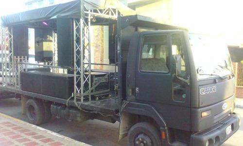 servicio de alquiler camión sonido perifoneo