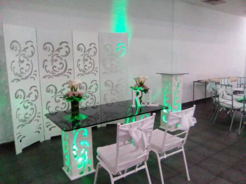 servicio de alquiler de sonido sala lounge sillas mesones