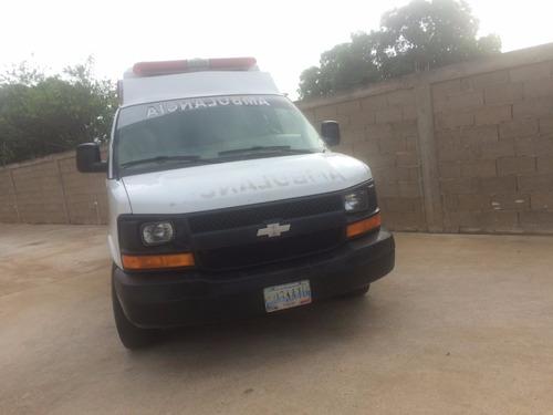 servicio de ambulancia para obras o traslados