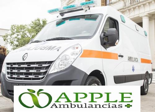 servicio de ambulancia para traslados (pami) eventos