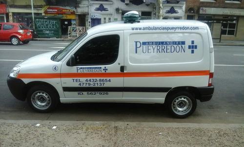 servicio de ambulancias particulares y obras sociales