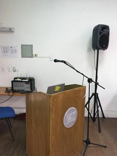 servicio de amplificación para eventos y audiovisuales