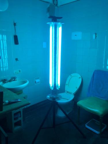 servicio de aplicación iluminacion uv c en ambientes