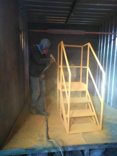 servicio de arenado  pintado al horno - ciudad de arequipa