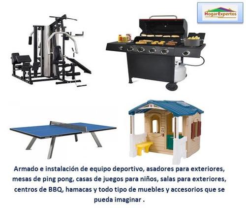 servicio de armado e instalación de muebles y accesorios
