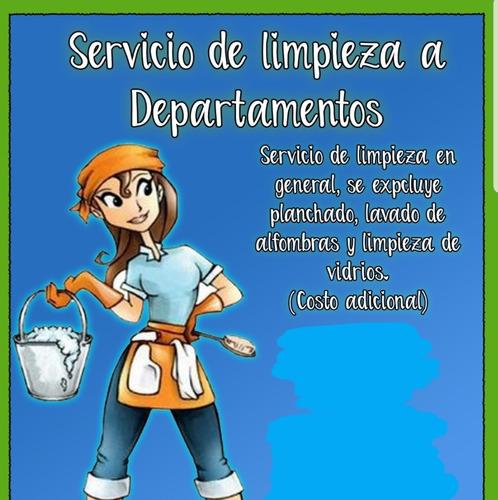 servicio de aseo y niñera