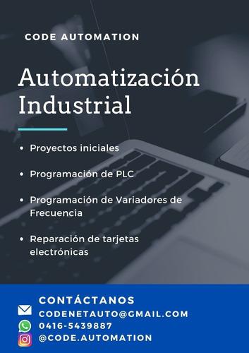 servicio de automatización industrial