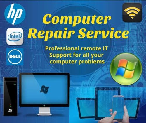 servicio de ayuda remota a su pc o laptop