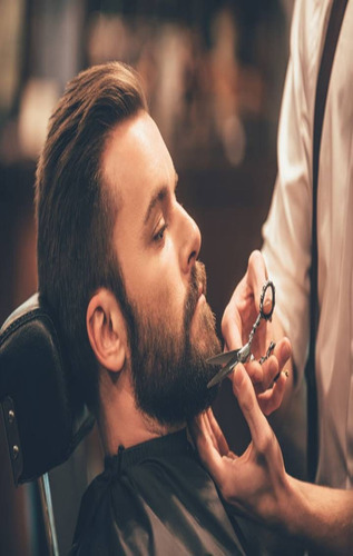 servicio de barberia a domicilio. y se dictan cursos.