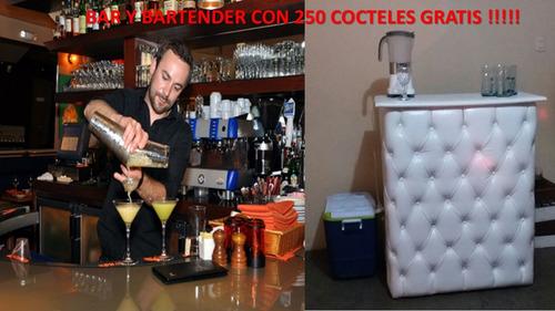 servicio de barman a1 +200 cocteles,bartender,bocaditos,dj