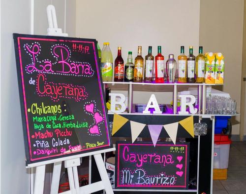 servicio de barman, mozos, bartender, dj a domicilio