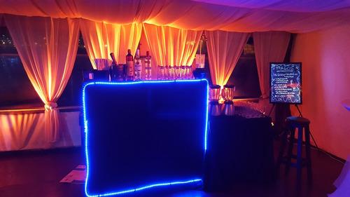 servicio de barman para fiestas y eventos barra tragos móvil