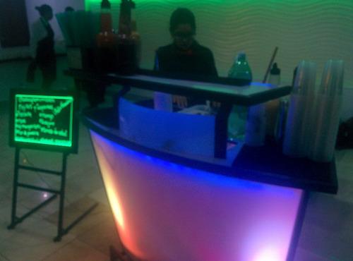 servicio de barra movil bartender y cocteleria