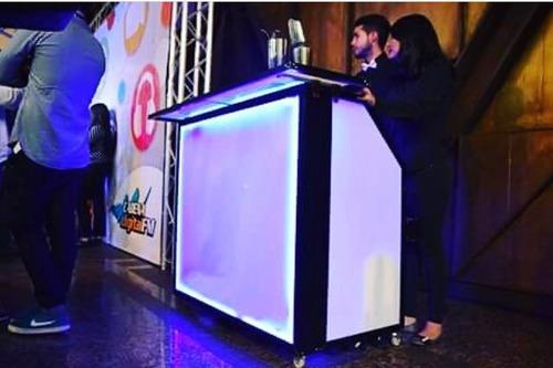 servicio de barras móviles led , bartenders coteleria y mas