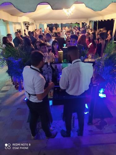 servicio de bartender alquiler de barra coctelera barramovil