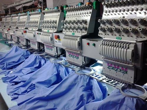 servicio de bordado uniformes chemises chaquetas toallas
