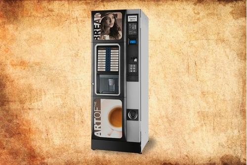 servicio de cafe gaseosas snack con maquinas expendedoras