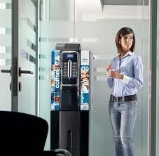 servicio de cafe, mediante expendedoras y dispenser de agua