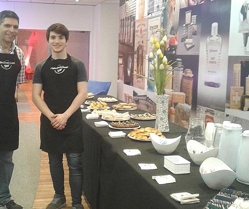 servicio de cafetería para eventos - coffee break