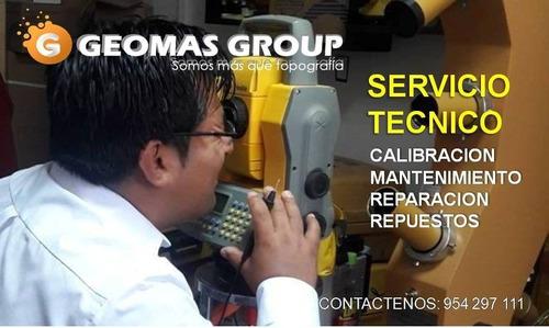 servicio de calibración topcon leica
