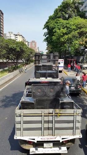 servicio de camiones con sonido para perifoneo