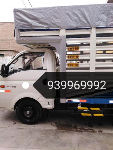 servicio de carga, mudanzas, y otros