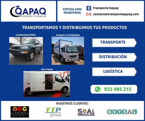 servicio de carga transporte distribucion logistica