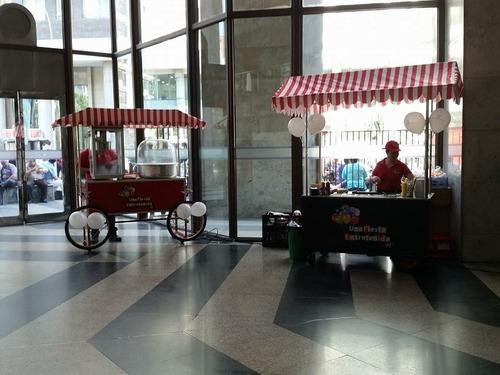 servicio de carrito  comida y carrito de algodon y cabrita