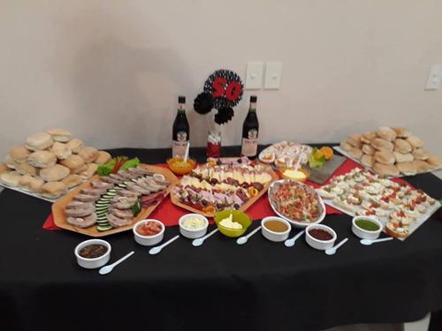 servicio de catering, mesas dulces, pizza party. tacos
