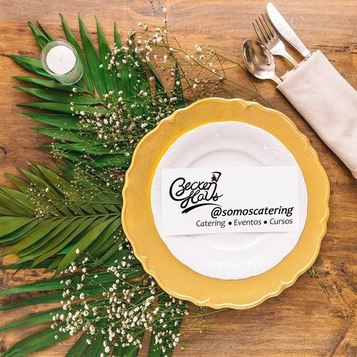 servicio de catering para eventos sociales y corporativos.