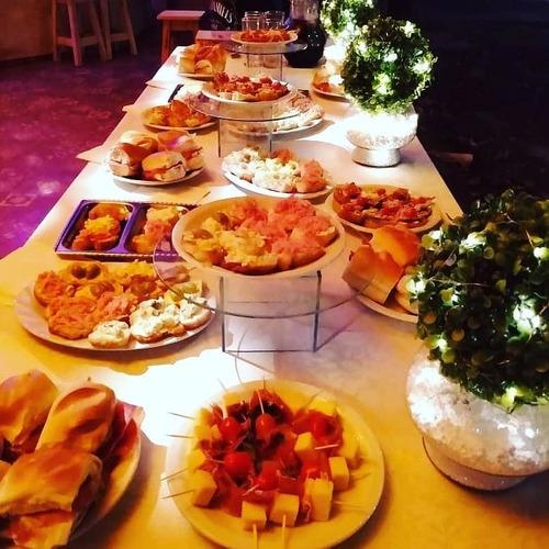 servicio de catering. pernil y pizza party y mucho mas!