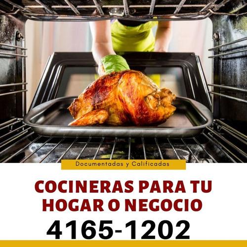 servicio de cocineras para poder brindarte un mejor servicio