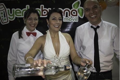 servicio de cocteleria, barra movil, bartenders