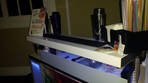 servicio de cocteleria, barra movil y bartender para eventos