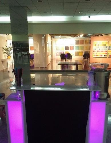 servicio de cocteles alquiler barra movil bartender frozen