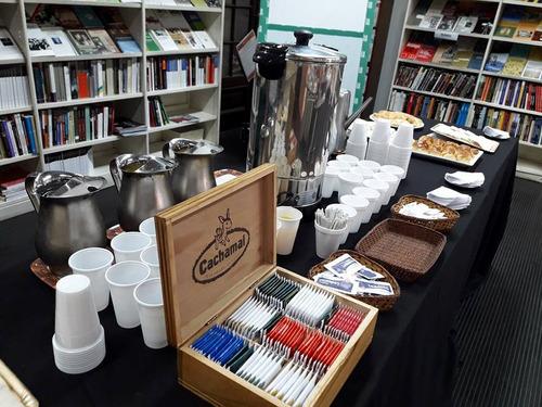 servicio de coffee break, desayunos de trabajo, meriendas