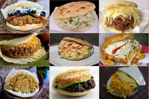 servicio de comida,empanadas congeladas almuerzos arepas