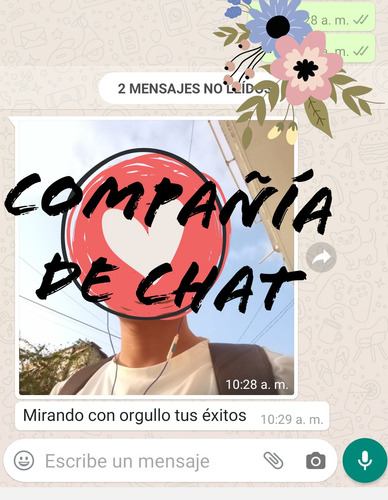 servicio de compañía por chat